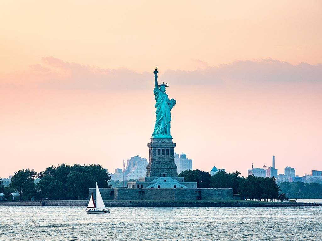 Statue Of Liberty, among the top tourist destinations in the United States