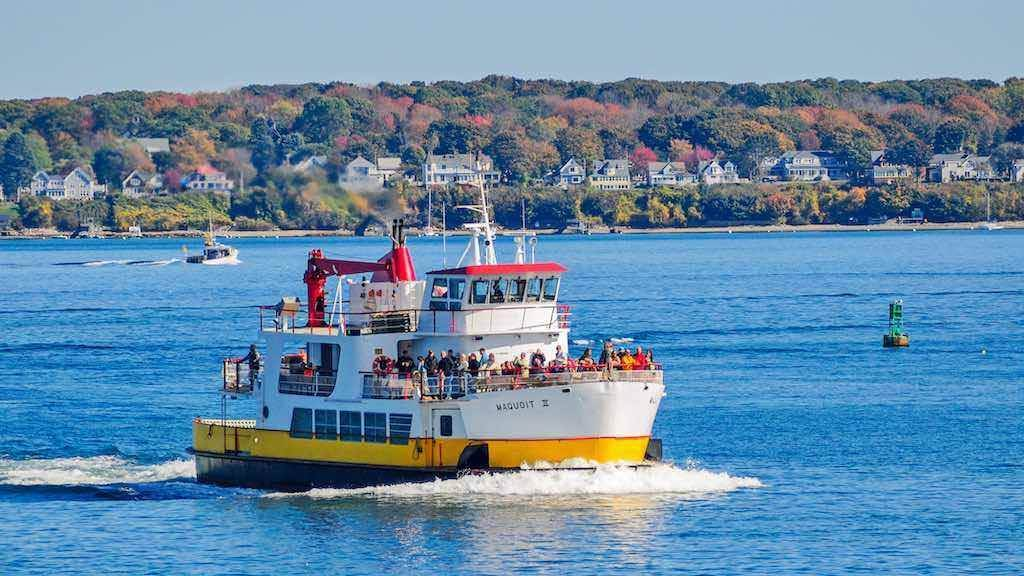 The Casco Bay Lines ferry, Portland, Maine - by Keith Michael Taylor / Shutterstock.com