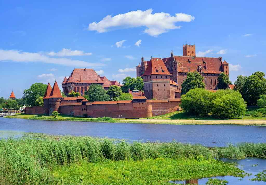 The Castle of the Teutonic Knights Order, Malbork, Poland- By Boris Stroujko/Shutterstock.com