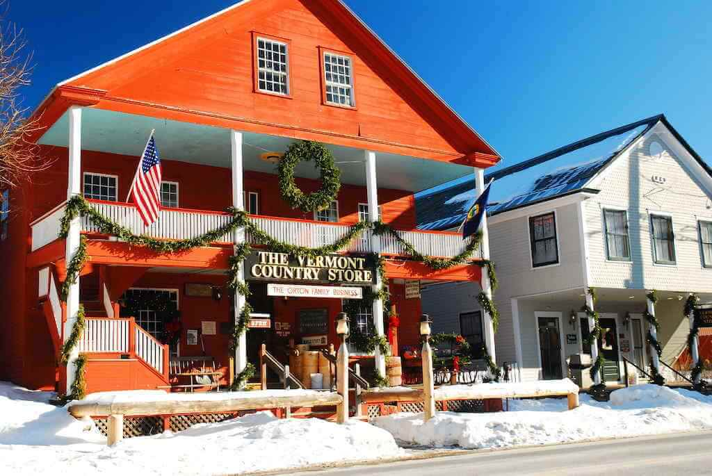 The Vermont Country Store, Weston,Vermont -by James Kirkikis/Shutterstock.com