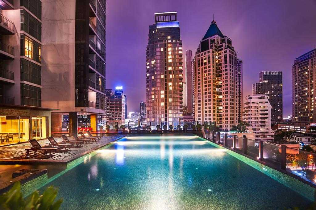 The pool at Urbana Sathorn - by Urbana Sathorn - Booking.com
