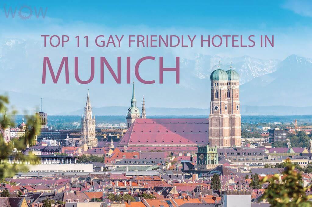 Los 11 mejores hoteles gay friendly en Munich