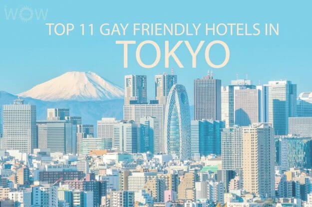 Los 11 mejores hoteles gay en Tokio.