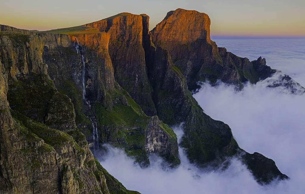 Tugela Falls, South Africa by Vivek P Bushan/Shutterstock