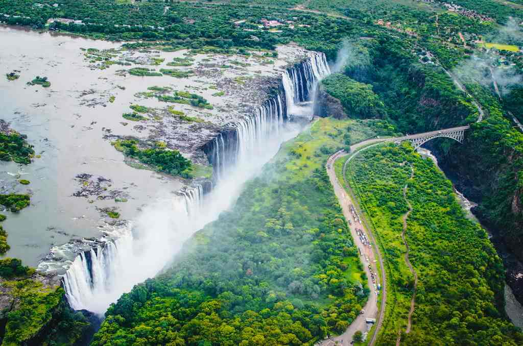 Victoria Falls, Livingstone by Yana Zubkova/Shutterstock