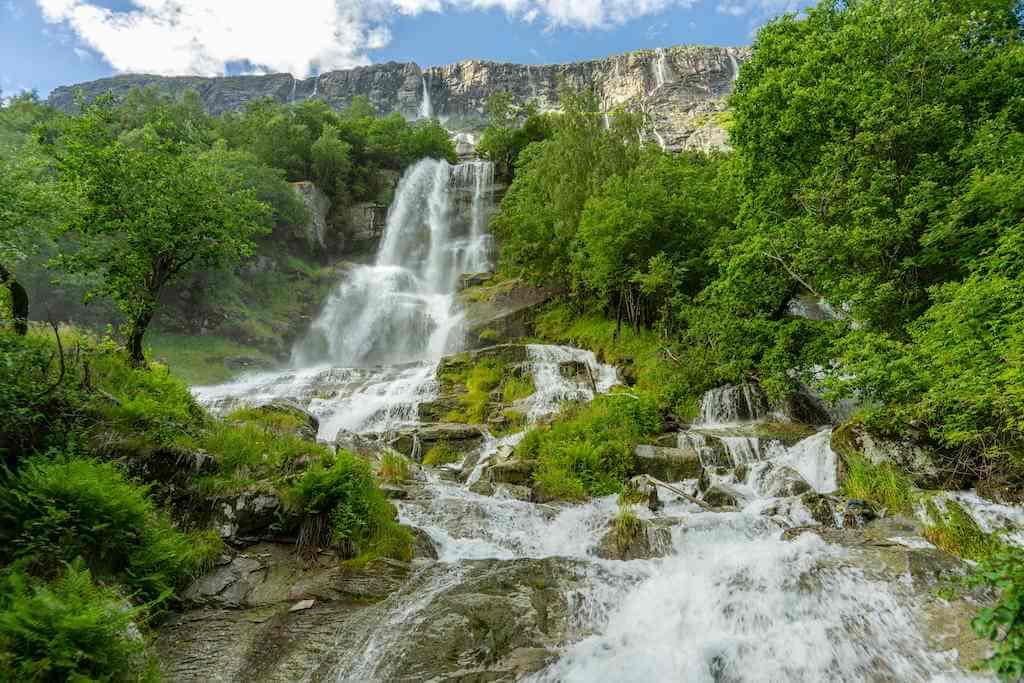 Vinufossen Falls, Norway by Magnus Binnerstam/Shutterstock