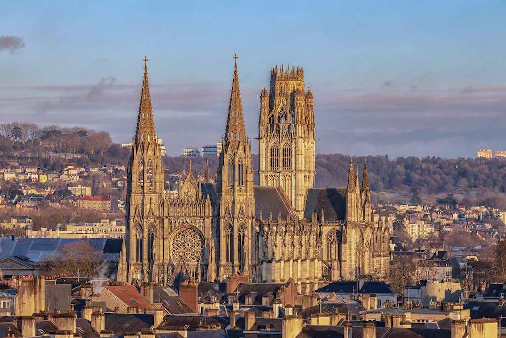 Abbey Church Of Saint-Ouen, Rouen, France