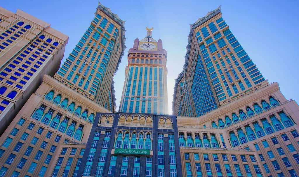 Abraj Al Bait (Royal Clock Tower Makkah) in Makkah, Saudi Arabia - by kiraziku2u / Shutterstock.com