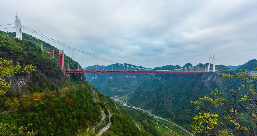 Aizhai Bridge, China