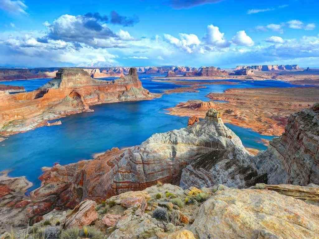 Alstrom point, Lake Powell, Page, Arizona