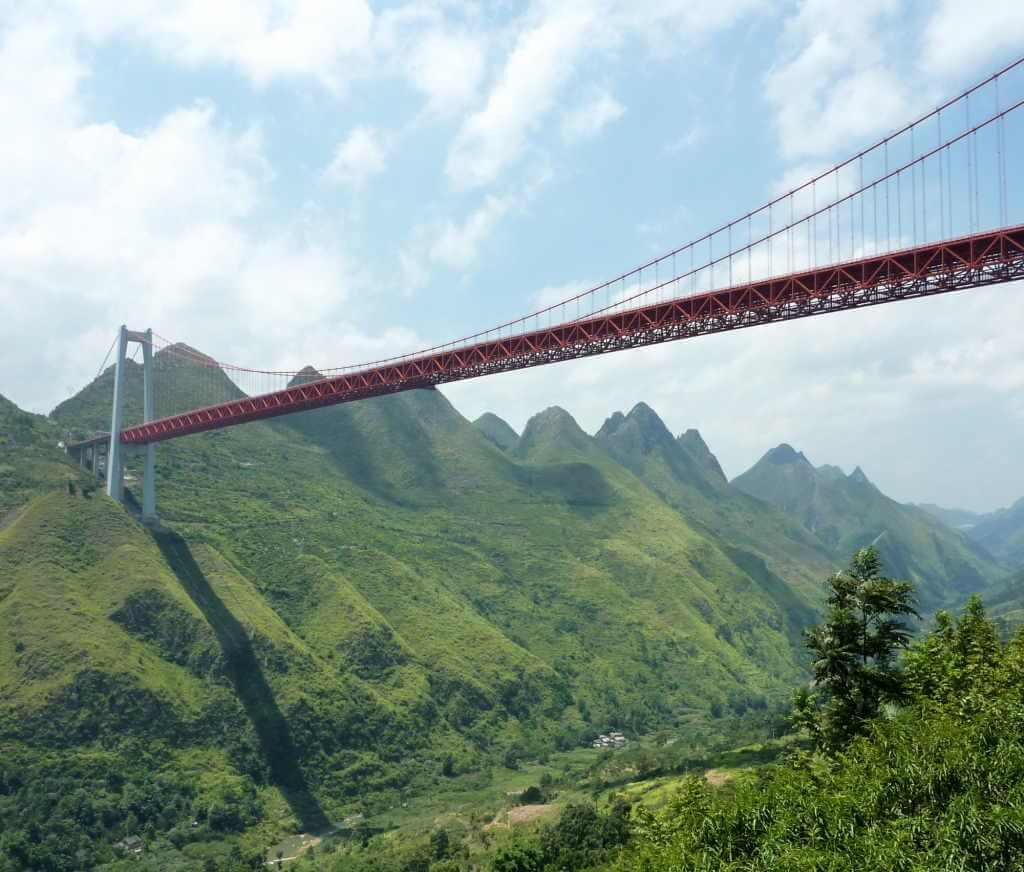 Baling River Bridge, China - by Glabb / Wikipedia