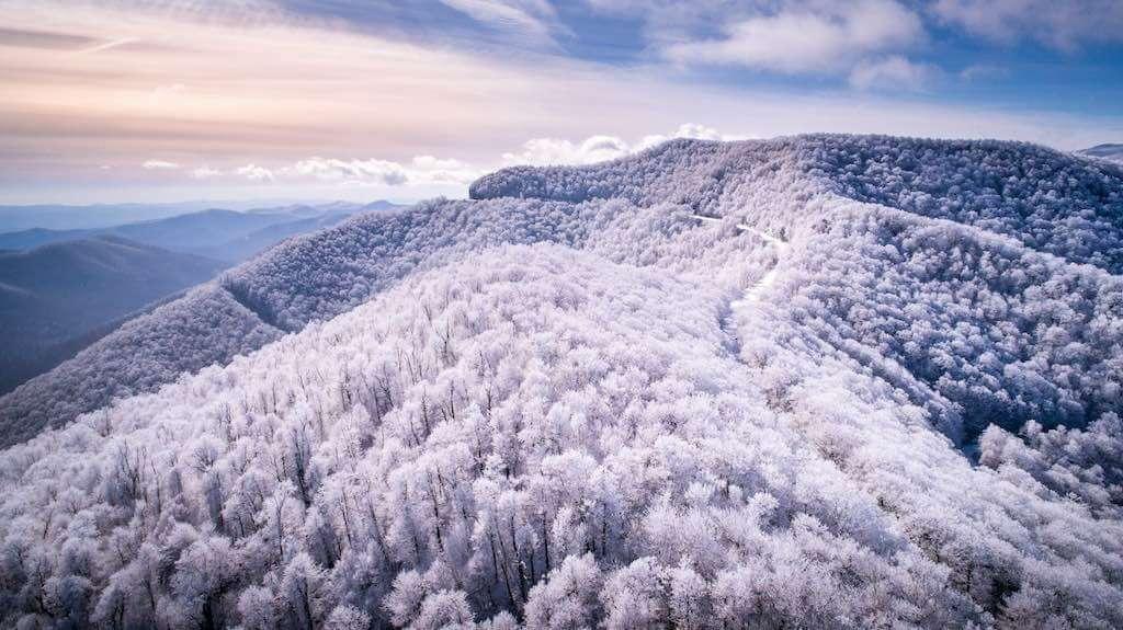 Blue Ridge Mountains, Asheville, North Carolina