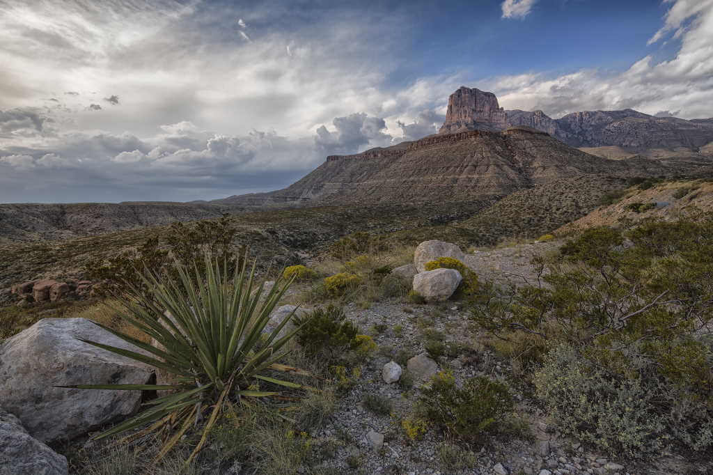 El Capitan Guadalupe Mountains National Park, Texas - by Mark Betts/flickr.com