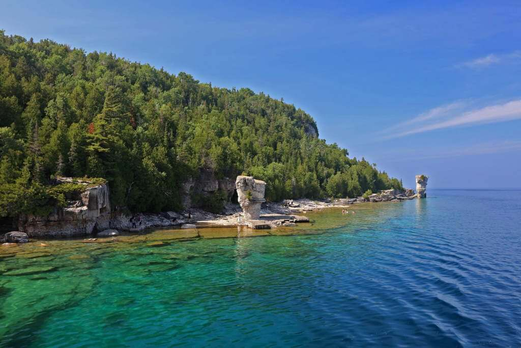 Fathom Five National Marine Park, Canada - by Martin Cigler, Wikipedia