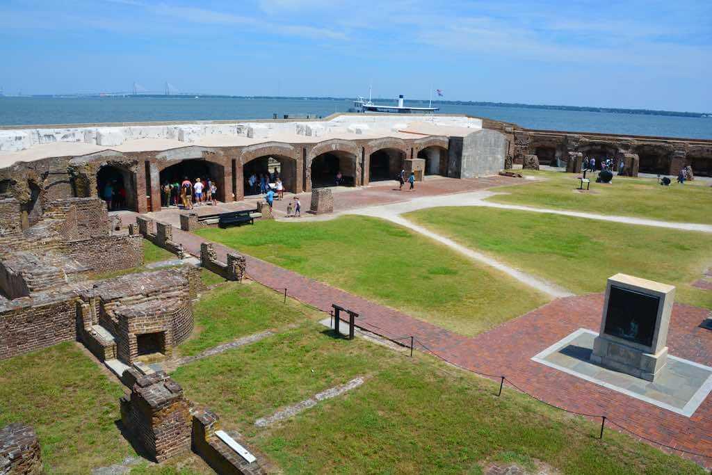 Fort Sumter National Monument, Charleston - by meunierd _ Shutterstock.com