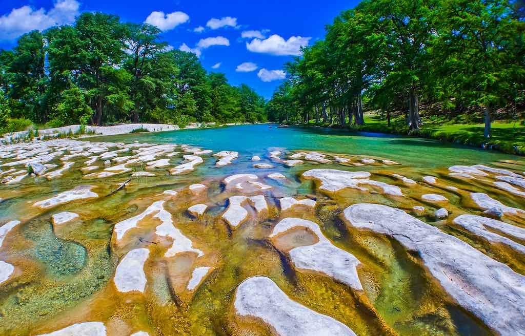 Frio River, Garner State Park, Texas