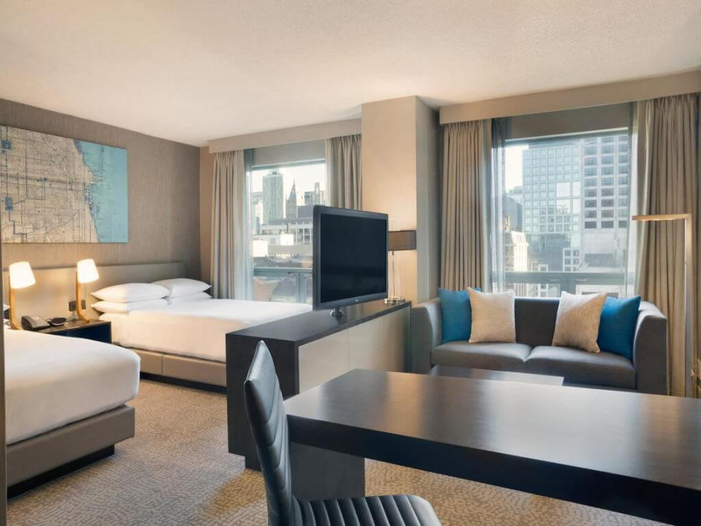 Hilton Chicago-Magnificent Mile Suites, USA – by Booking.com