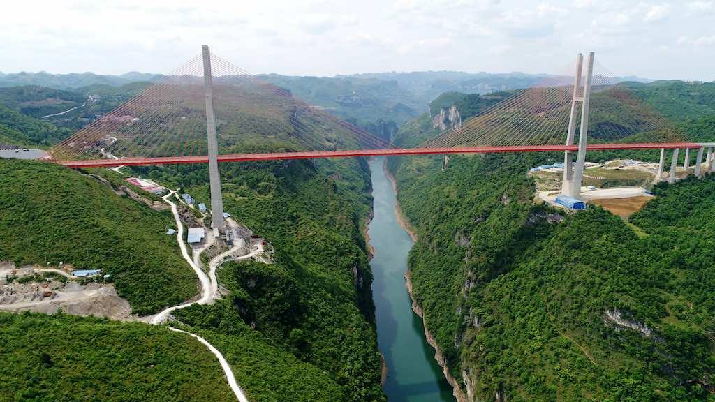 Liuguanghe Xiqian Bridge, China - by highestbridges.com