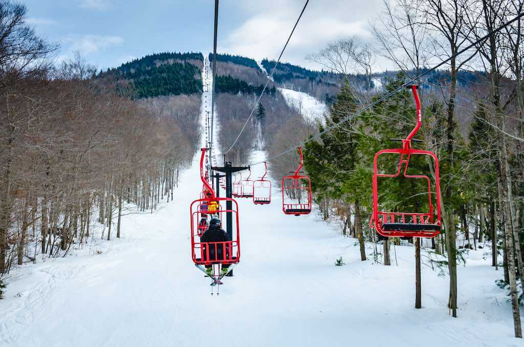 Magic Mountain Ski Area, Londonderry, Vermont - by Sandra Foyt / Shutterstock.com