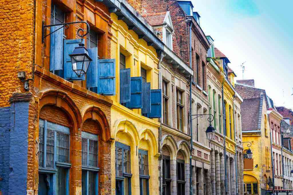 Old Town Lille, France