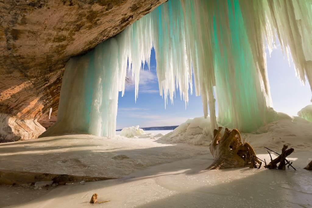 Pictured Rocks National Lakeshore in Munising, Michigan