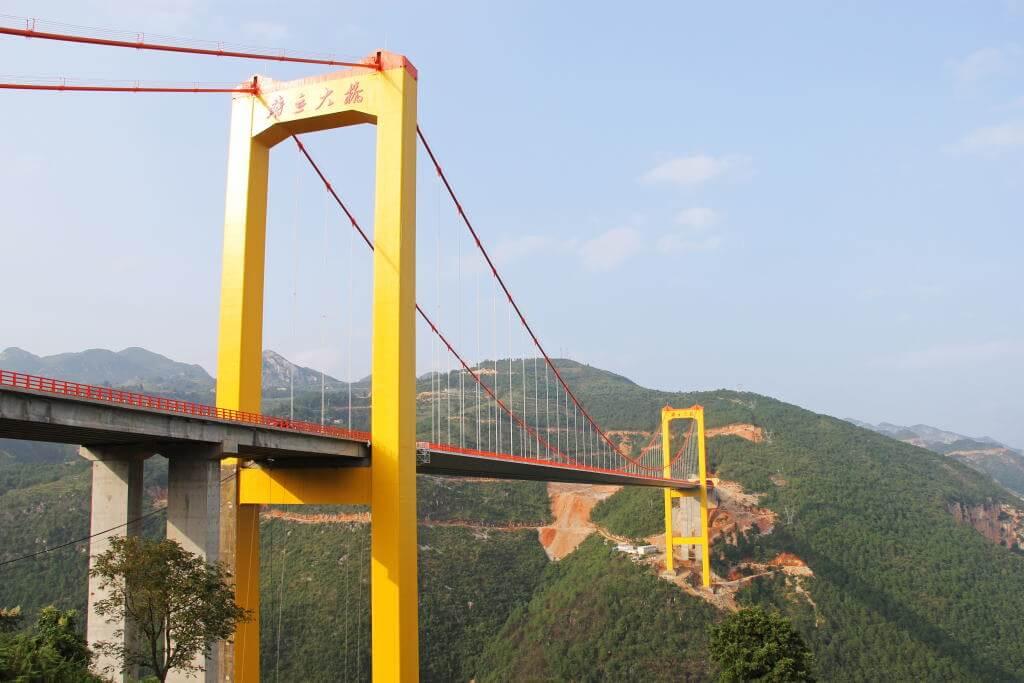 Puli Bridge, China - by HighestBridges / Wikipedia