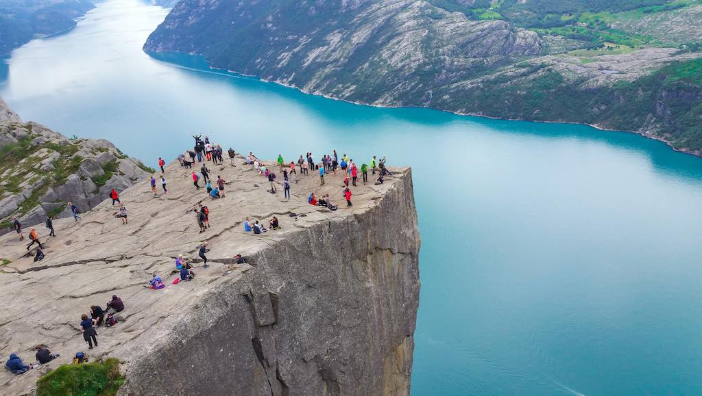 Pulpit Rock (Preikestolen), Norway