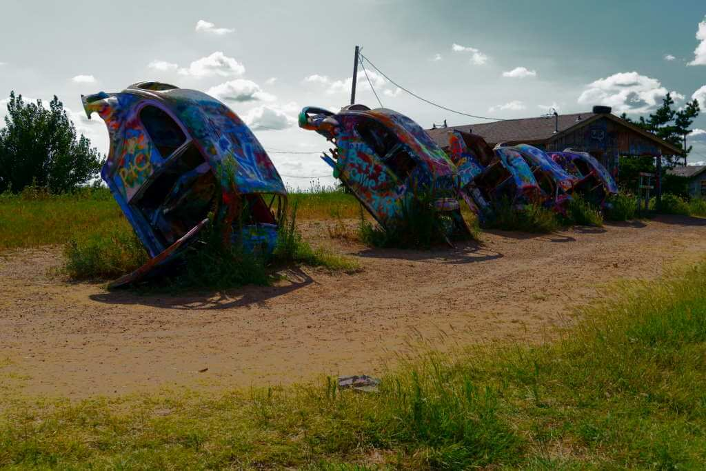 Route 66 Conway, Texas - by thieulson/flickr.com