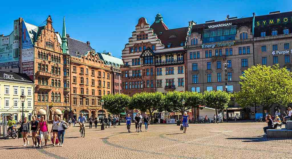 Stortorget in Malmö, Sweden - by Christian Beiwinkel/Wikimedia