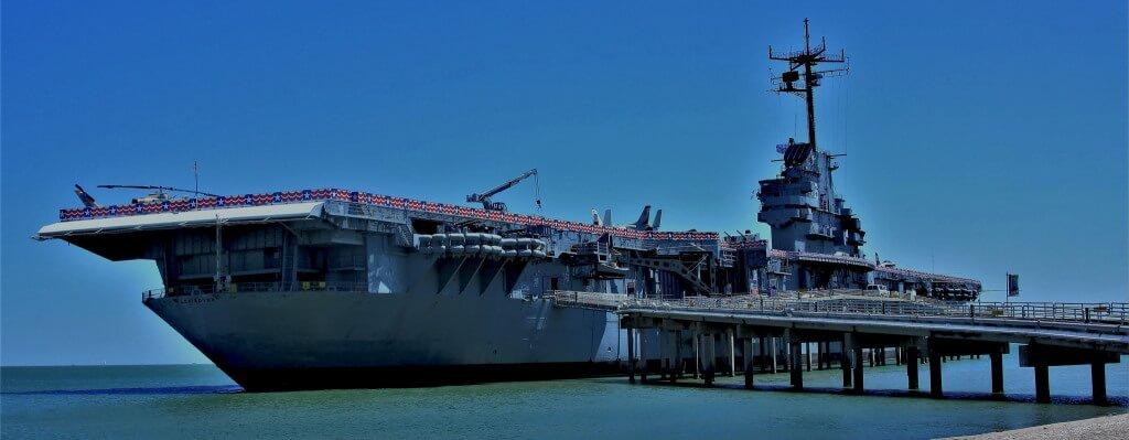 The USS Lexington, Corpus Chirsti - by miosolee/flickr.com