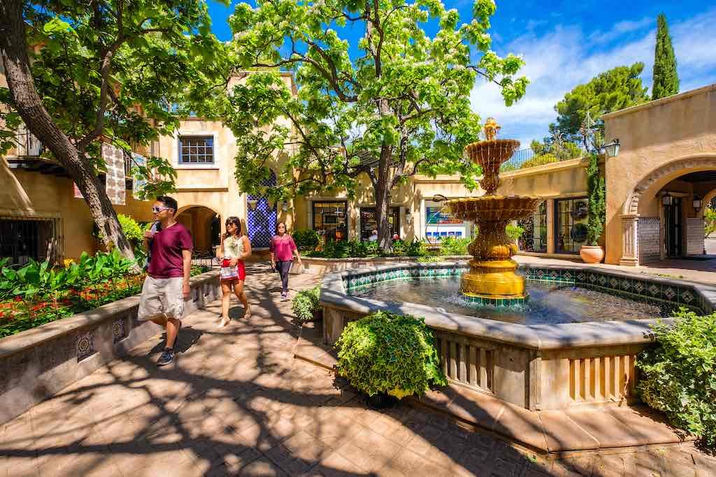 Tlaquepaque Arts And Crafts Village, Sedona, Arizona - by Fotoluminate LLC / Shutterstock.com