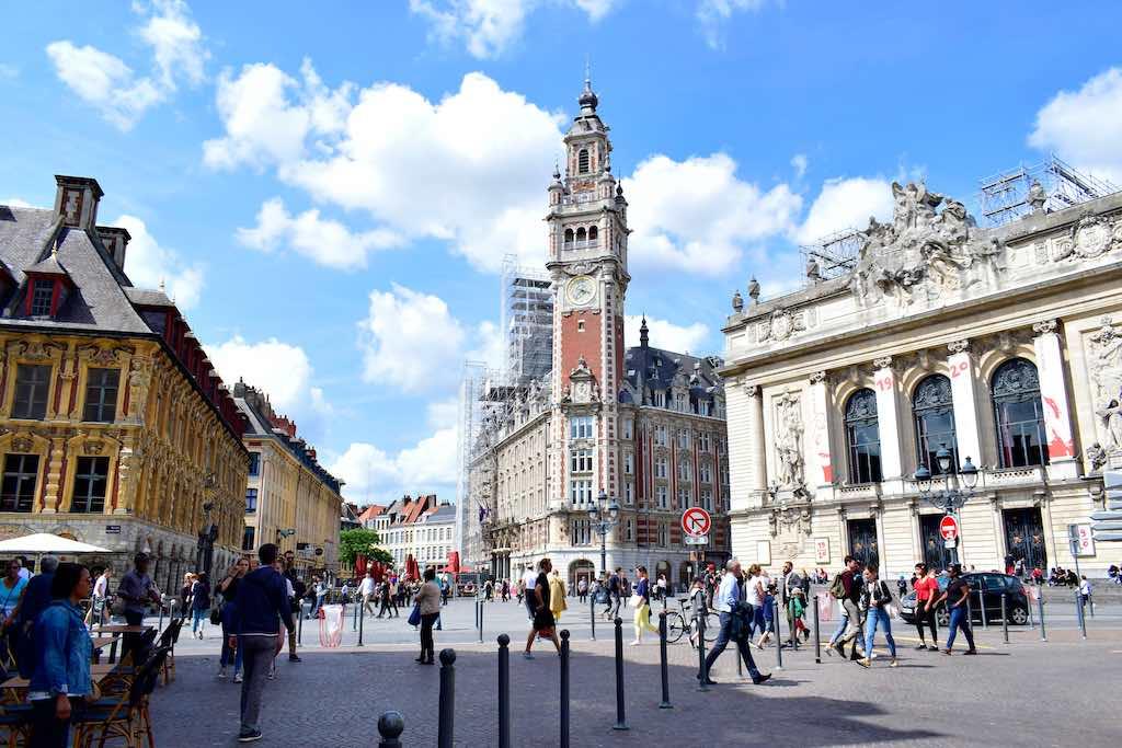 Town Hall (Belfry), Lille - by Mali lucky / Shutterstock.com