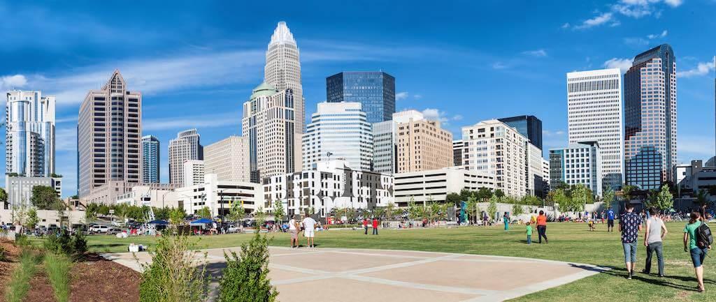 Uptown Charlotte - by Alexey Rotanov _ Shutterstock.com