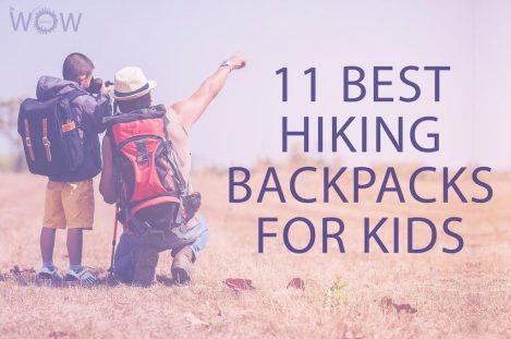 11 Best Hiking Backpacks For Kids