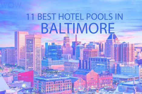 11 Best Hotel Pools In Baltimore