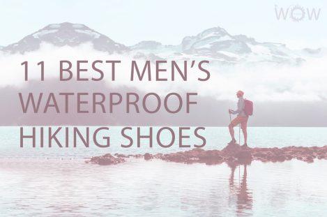 11 Best Men's Waterproof Hiking Shoes