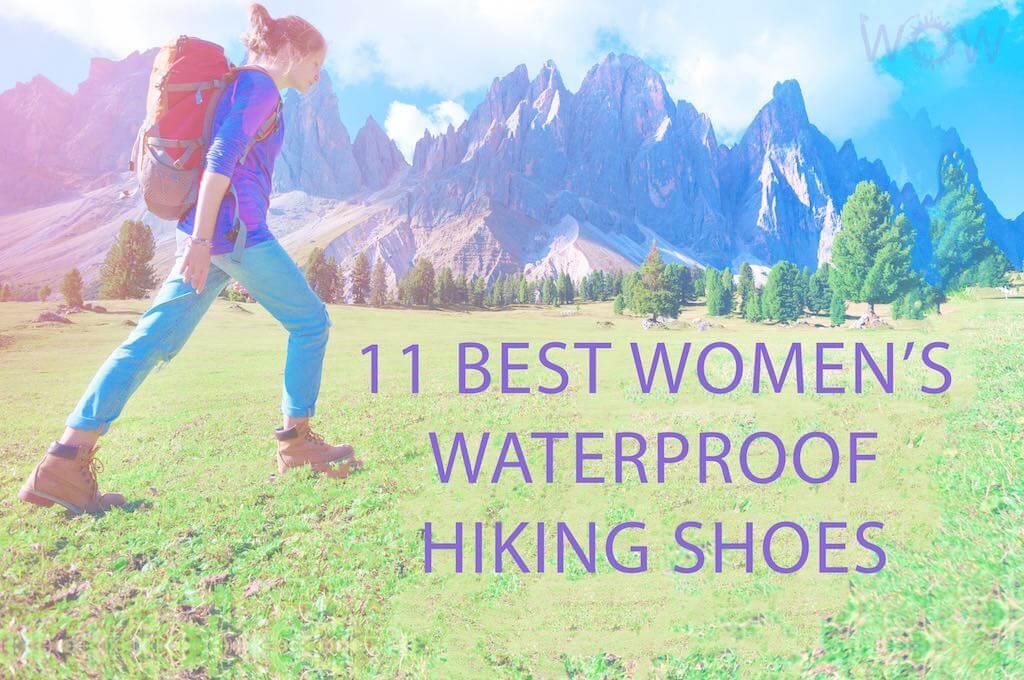 11 Best Women's Waterproof Hiking Shoes