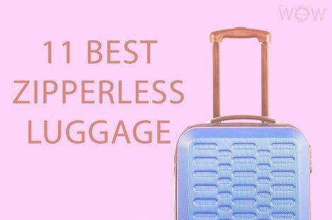 11 Best Zipperless Luggage