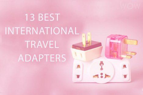 13 Best International Travel Adapters