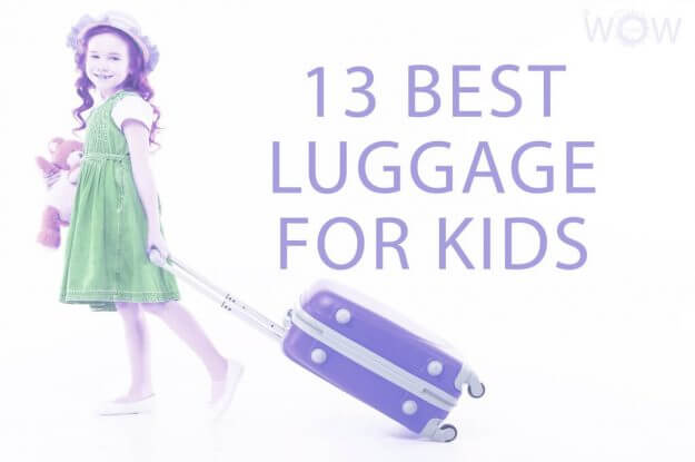 13 Best Luggage For Kids