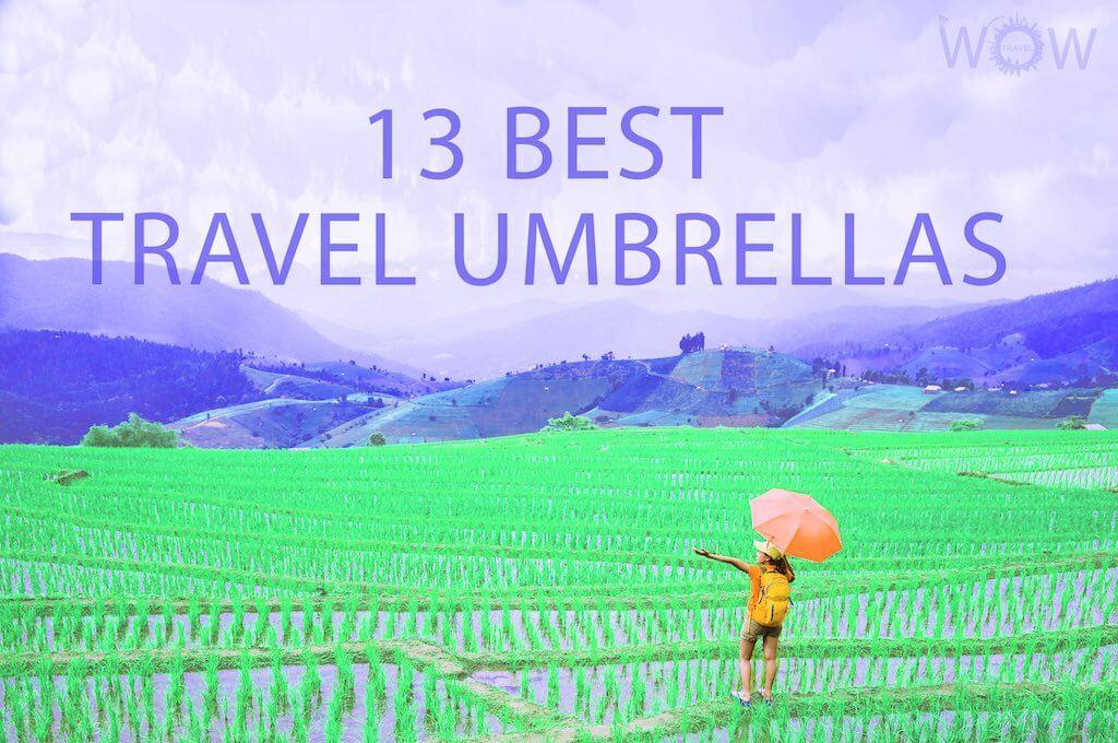 13 Best Travel Umbrellas