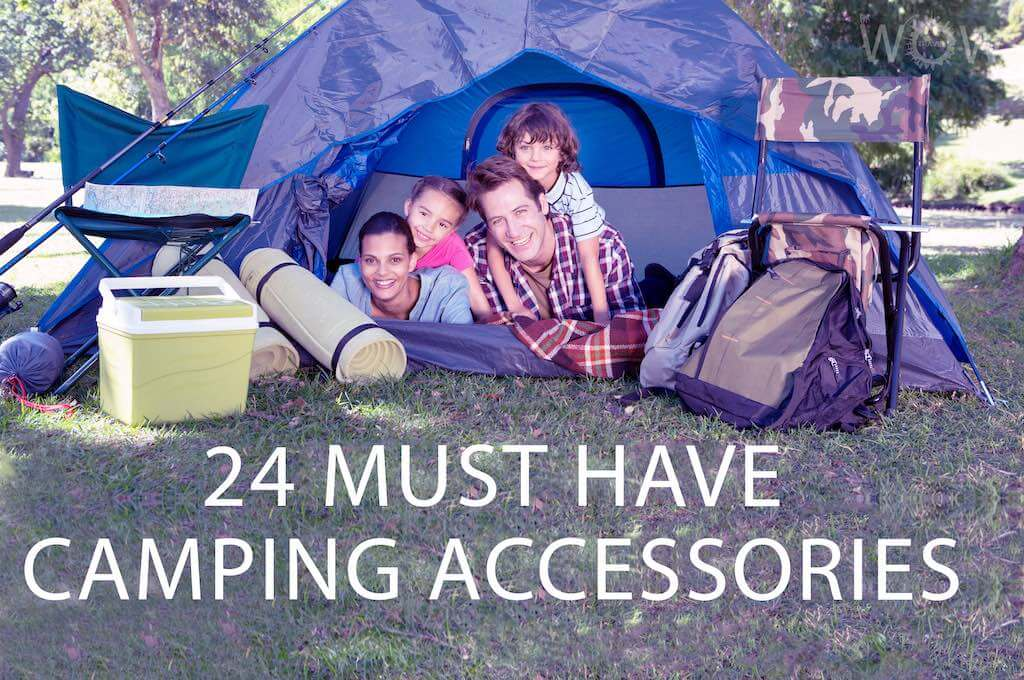24 Must Have Camping Accessories