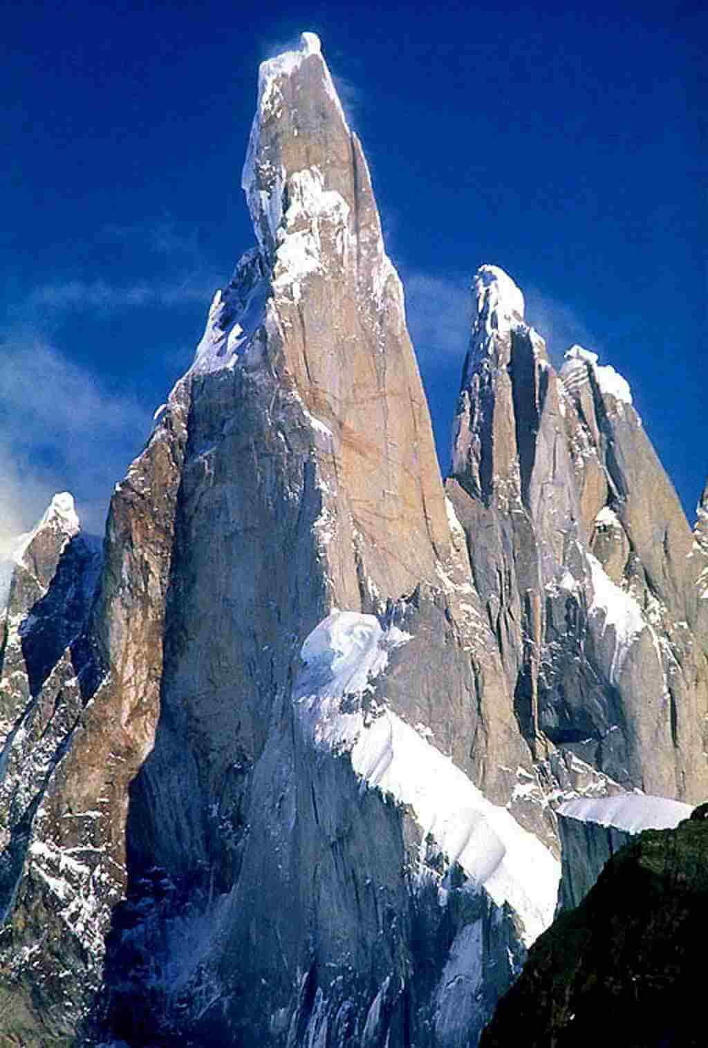 Cerro Torre, South America - by Davide Brighenti/wikipedia.org