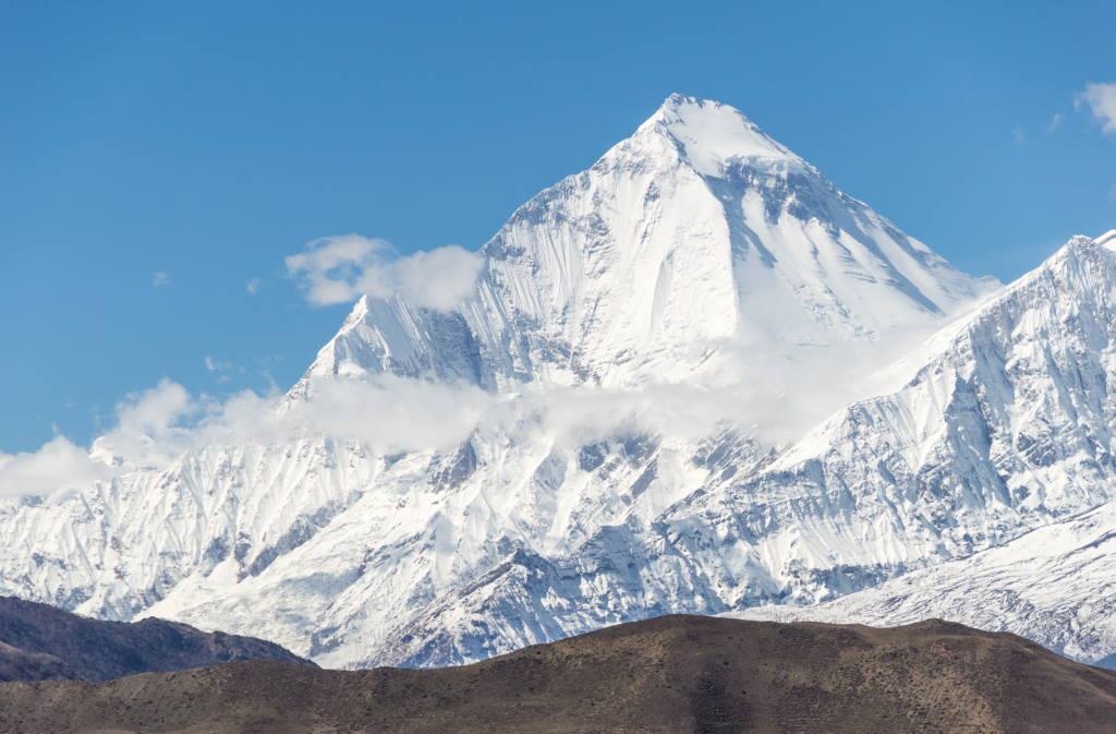 Dhaulagiri Mountain, Nepal - by Solundir/wikipedia.org