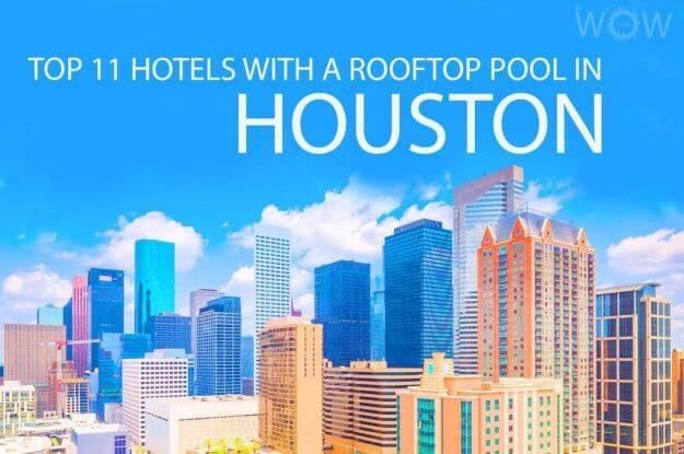 Top 11 Hotels With A Rooftop Pool In Houston