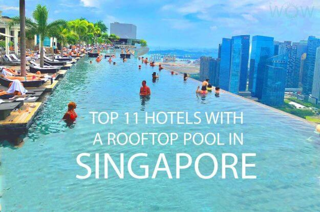 Top 11 Hotels With A Rooftop Pool In Singapore