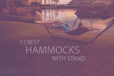 13 Best Hammocks with Stand