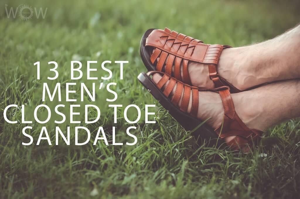 13 Best Men's Closed Toe Sandals