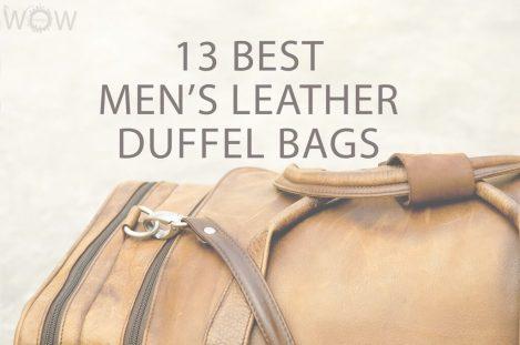 13 Best Men's Leather Duffel Bags