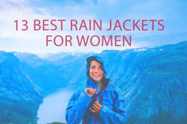 13 Best Rain Jackets For Women